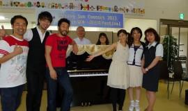 東北にピアノと音楽を届けるプロジェクトRising Sun